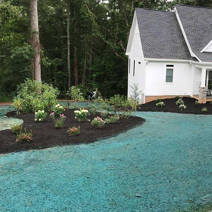 Hydro Seeding by Garretts Landscape